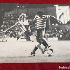 Coleccionismo deportivo: FF228 GRAN FOTO FOTOGRAFIA IVO ARDAIS WORTMANN ATLETICO MADRID SPORTING PORTUGAL 1975 HOMENAJE RODRI. Lote 221656153