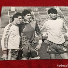 Coleccionismo deportivo: F10491 FOTO FOTOGRAFIA ORIGINAL DE PRENSA ANTONIO ÁLVAREZ RINCON 1983 SELECCION ESPAÑA. Lote 221657526