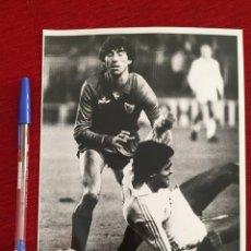 Coleccionismo deportivo: F10492 FOTO FOTOGRAFIA ORIGINAL DE PRENSA ANTONIO ÁLVAREZ MALAGA (9-2-1986). Lote 221657655