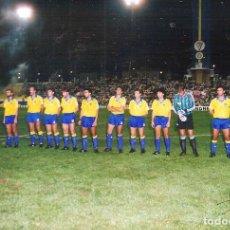 Coleccionismo deportivo: FOTOGRAFÍA ORIGINAL CÁDIZ CF TROFEO CARRANZA AÑOS 80. Lote 221657727