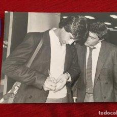 Coleccionismo deportivo: F10493 FOTO FOTOGRAFIA ORIGINAL DE PRENSA ANTONIO ÁLVAREZ GORDILLO SELECCION ESPAÑA 1983. Lote 221657972