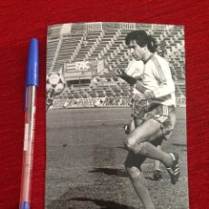 Coleccionismo deportivo: R10404 FOTO FOTOGRAFIA ORIGINAL DE PRENSA ANTONIO ÁLVAREZ GORDILLO SELECCION ESPAÑA 1983. Lote 221658527