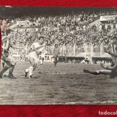 Coleccionismo deportivo: F10496 FOTO FOTOGRAFIA ORIGINAL PRENSA RAYO VALLECANO 3-0 VALENCIA(11-12-1977)GOL ALVARITO MANZANEDO. Lote 221660986