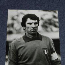 Coleccionismo deportivo: (M-ALB2) FOTOGRAFIA JUGADOR ZOFF - SELECCION ITALIANA, 18 X 13 CM,. Lote 221685538