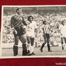 Coleccionismo deportivo: F10537 FOTO FOTOGRAFIA ORIGINAL DE PRENSA REAL MADRID ATHLETIC BILBAO HUGO SANCHEZ (20-10-1985)ZUBI. Lote 221712731