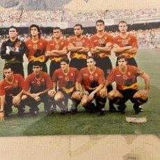 Coleccionismo deportivo: SELECCION ESPAÑOLA DESCONOZCO EL AÑO BUEN ESTADO 17X12 APROX. Lote 221983981