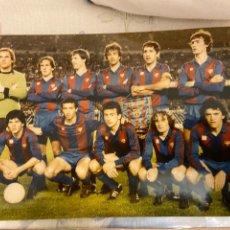 Coleccionismo deportivo: BARCELONA AÑOS 80 20X14 CM NUEVA. Lote 221986186