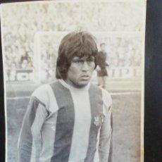 Coleccionismo deportivo: FOTO DE HUGO SOTIL. JUGADOR C F BARCELONA. Lote 222324538