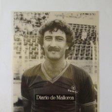 Coleccionismo deportivo: RCD MALLORCA : MIODRAG KUSTUDIC (TEMPORADA 1981-82) - FOTOGRAFIA / TRANSPARENCIA ARCHIVO DE PRENSA. Lote 222356808