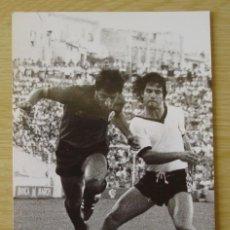 Coleccionismo deportivo: RCD MALLORCA : VICENTE SANCAYETANO (TEMPORADA 1981-82) - FOTOGRAFIA PROCEDENTE DE ARCHIVO DE PRENSA. Lote 222357030