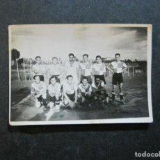 Coleccionismo deportivo: EQUIPO DE FUTBOL-FOTOGRAFIA ANTIGUA-VER FOTOS-(75.197). Lote 222387925