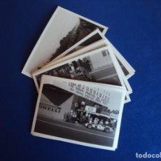 Coleccionismo deportivo: (FOT-201076)LOTE DE 10 FOTOGRAFIAS AÑO 1953.XII GRAN PREMIO PEÑA RHIN.FÓRMULA 1.. Lote 222425678