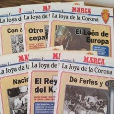 Coleccionismo deportivo: LOTE 6 FASCÍCULOS REAL ZARAGOZA MARCA LA JOYA DE LA CORONA. Lote 222485781