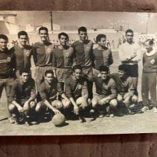 Coleccionismo deportivo: FOTOGRAFIA FUTBOL EQUIPO. Lote 222549765