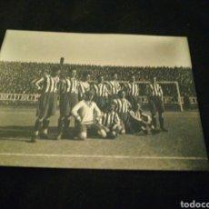 Colecionismo desportivo: FOTOGRAFIA ATLETI CLUB CAMP DE LES CORTS AÑOS 20 PROCEDE DE NEGATIVO ORIGINAL. Lote 224521278