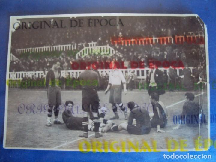 (VP-47)FOTOGRAFIA F.C.BARCELONA-C.D.EUROPA AÑOS 20,SAMITIER-ARCHIVO VICENÇ PIERA (Coleccionismo Deportivo - Documentos - Fotografías de Deportes)