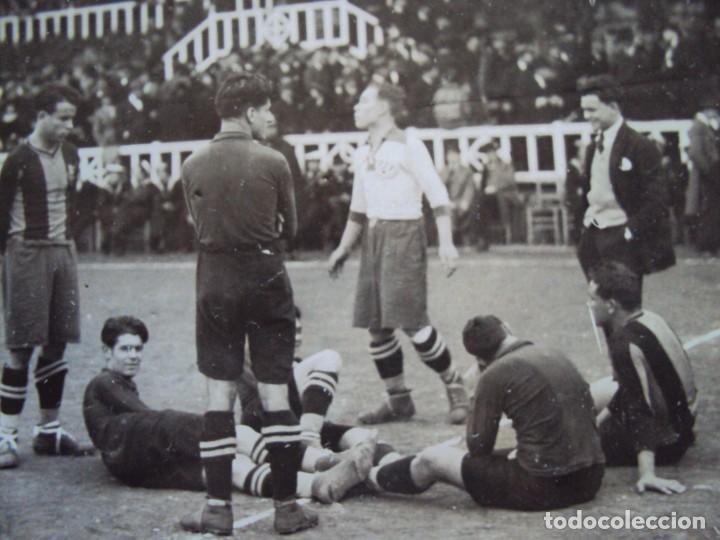 Coleccionismo deportivo: (VP-47)FOTOGRAFIA F.C.BARCELONA-C.D.EUROPA AÑOS 20,SAMITIER-ARCHIVO VICENÇ PIERA - Foto 4 - 225007155