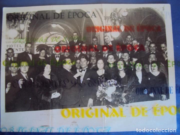 (VP-60)FOTOGRAFIA DE PIERA F.C.BARCELONA ENTREGA MEDALLA AL MERITO 1931-ARCHIVO VICENÇ PIERA (Coleccionismo Deportivo - Documentos - Fotografías de Deportes)