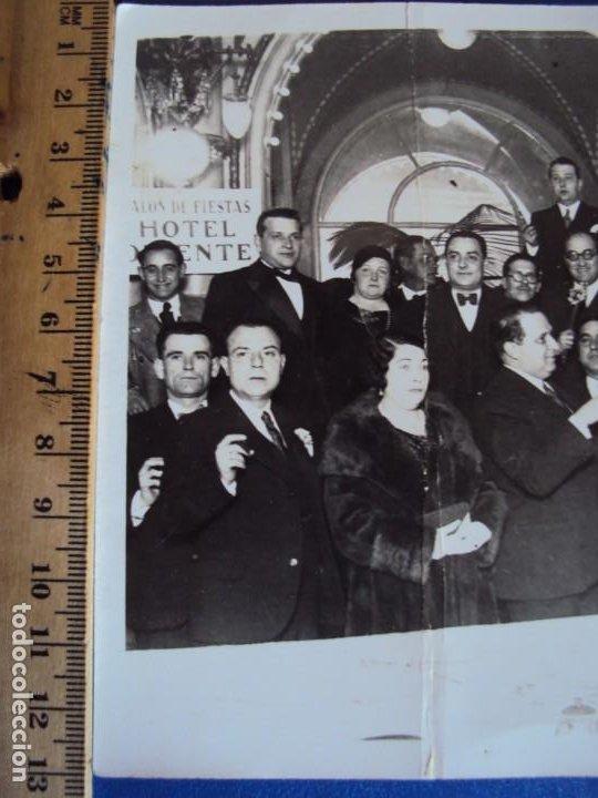 Coleccionismo deportivo: (VP-60)FOTOGRAFIA DE PIERA F.C.BARCELONA ENTREGA MEDALLA AL MERITO 1931-ARCHIVO VICENÇ PIERA - Foto 3 - 225013375