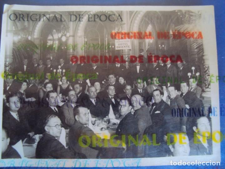 (VP-61)FOTOGRAFIA DE PIERA F.C.BARCELONA ENTREGA MEDALLA AL MERITO 1931-ARCHIVO VICENÇ PIERA (Coleccionismo Deportivo - Documentos - Fotografías de Deportes)