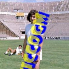 Coleccionismo deportivo: CABRAL VALENCIA FOTOGRAFIA FUTBOL JUGADOR 10X15 CENTIMETROS BUENA CALIDAD. Lote 289489648