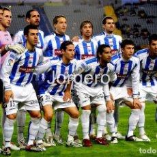 Collectionnisme sportif: D. ALAVÉS. ALINEACIÓN PARTIDO DE LIGA 2008-2009 EN EL GRAN CANARIA CONTRA LAS PALMAS. FOTO. Lote 225359376