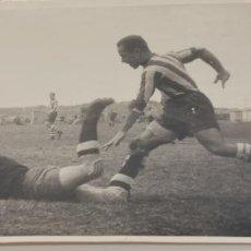 Coleccionismo deportivo: FOTOGRAFIA FUTBOL AÑOS 40 MADRID S.ZARCO REVISTA MARCA. Lote 226804735