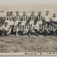 Coleccionismo deportivo: EQUIPO FUTBOL DE MADRID 1949.- 1950. Lote 226843810
