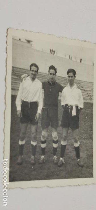 JUGADORES DE FUTBOL MADRID FECHADA 31-1-46 (Coleccionismo Deportivo - Documentos - Fotografías de Deportes)