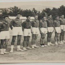 Coleccionismo deportivo: EQUIPO DE FUTBOL MADRILEÑO FECHADA EL 20-8-47. Lote 226846525