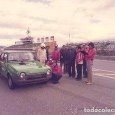 Coleccionismo deportivo: LOTE DE 7 FOTOGRAFÍAS DE LAS PRUEBAS DE CUBIERTAS FIRESTONE EN EL JARAMA EN 1979. Lote 204629435
