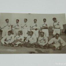 Coleccionismo deportivo: ESPECTACULAR FOTOGRAFÍA ORIGINAL DEL R MADRID AÑO 1907 - BARREONDO, GIRALT, NEYRA. Lote 228126785