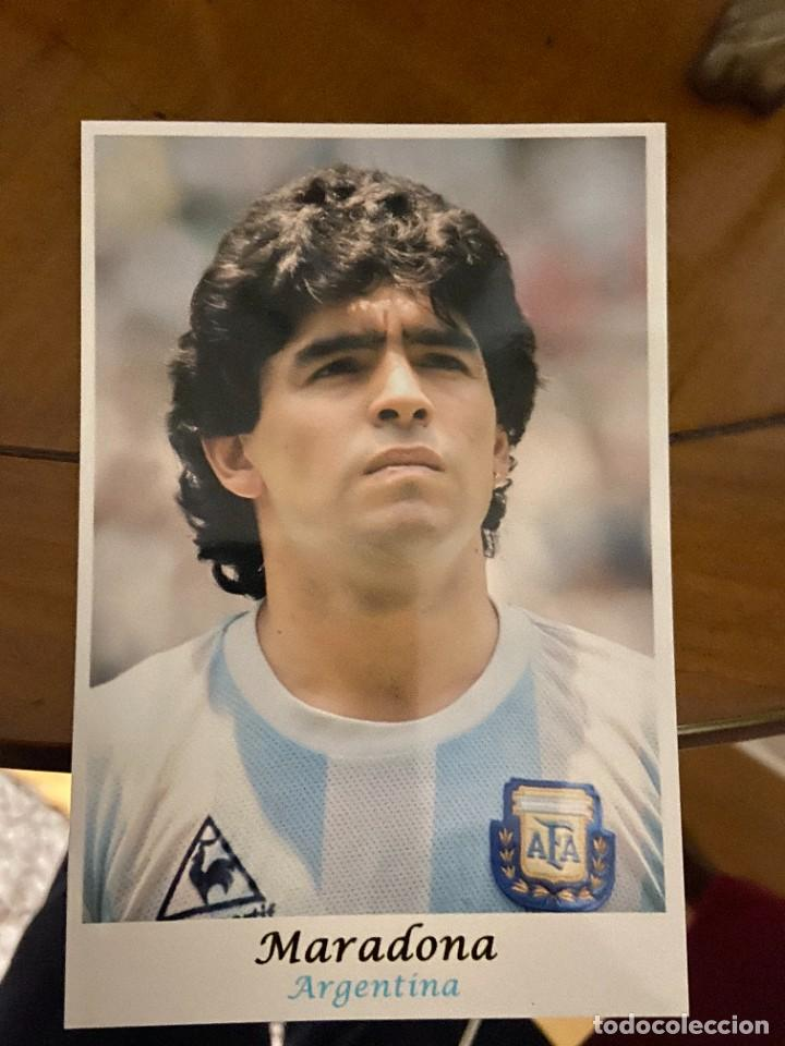 MARADONA SELECCION ARGENTINA (Coleccionismo Deportivo - Documentos - Fotografías de Deportes)