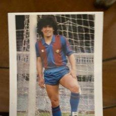 Coleccionismo deportivo: MARADONA F.C. BARCELONA. Lote 228224820