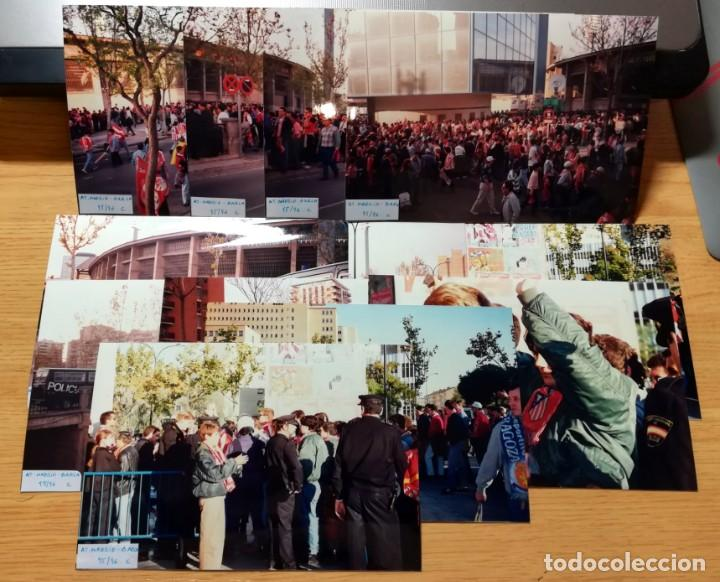 FOTOGRAFIAS AFICIONADOS FINAL COPA REY ATLETICO MADRID FC BARCELONA LA ROMAREDA 1995-96 ZARAGOZA (Coleccionismo Deportivo - Documentos - Fotografías de Deportes)