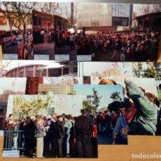 Coleccionismo deportivo: FOTOGRAFIAS AFICIONADOS FINAL COPA REY ATLETICO MADRID FC BARCELONA LA ROMAREDA 1995-96 ZARAGOZA. Lote 229911210