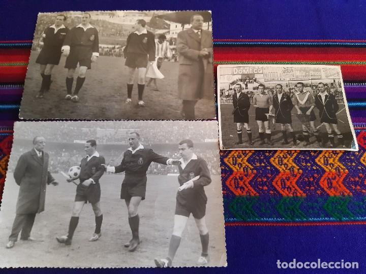 Coleccionismo deportivo: FOTO REAL MADRID VS CÓRDOBA CF GENTO JUANÍN ÁRBITRO JOSÉ LUIS LÓPEZ ZABALLA. 9-4-1967. 3 DE REGALO. - Foto 4 - 230229990