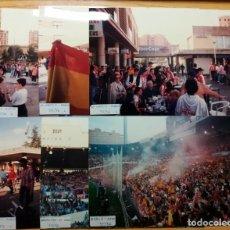 Coleccionismo deportivo: FOTOGRAFIAS AFICIONADOS FINAL COPA REY ATLETICO MADRID FC BARCELONA LA ROMAREDA 1995-96 ZARAGOZA. Lote 230607710