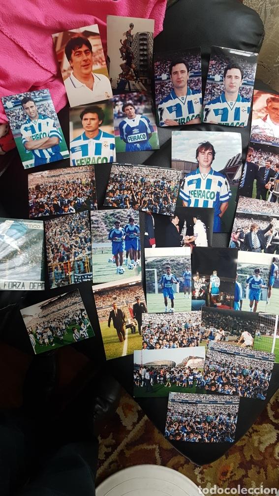 ENORME LOTE DE FOTOGRAFIAS DEPORTIVO CORUÑA SUPERDEPOR AÑOS 2000 (Coleccionismo Deportivo - Documentos - Fotografías de Deportes)