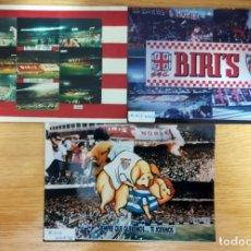 Coleccionismo deportivo: FOTOMONTAJES FOTOGRAFIAS SUPPORTES FUTBOL ULTRAS SEVILLA FC BIRIS NORTE. Lote 232059565