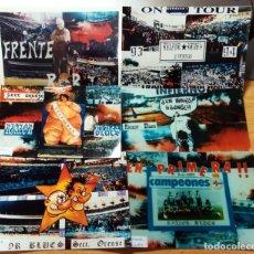 Coleccionismo deportivo: FOTOMONTAJES FOTOGRAFIAS ULTRAS SUPPORTES FUTBOL AÑOS 90 RIAZOR BLUS DEPORTIVO DE LA CORUÑA. Lote 232201420