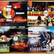 Coleccionismo deportivo: FOTOMONTAJES FOTOGRAFIAS ULTRAS SUPPORTES FUTBOL FOOTBALL 90 GREEN MONSTERS SECTION GRENAT RED TIGER. Lote 232210445