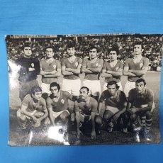 Coleccionismo deportivo: FOTO REAL MURCIA - AÑOS 70 - FOTOS TOMÁS, MEDIDAS 11× 15 CM.. Lote 232273595