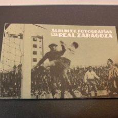 Coleccionismo deportivo: ÁLBUM FOTOGRÁFICO DEL REAL ZARAGOZA. 18 POSTALES. AÑOS 30 . 2013. Lote 232477505