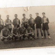 Coleccionismo deportivo: FOTOGRAFIA EQUIPO FUTBOL VIZCAYA. C. 1930. Lote 233503265