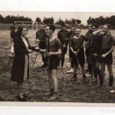 Coleccionismo deportivo: TARJETA POSTAL FOTOGRAFICA EQUIPO DE HOCKEY. FOTO ELORZA, BILBAO.. Lote 233503725