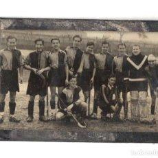 Coleccionismo deportivo: FOTOGRAFIA EQUIPO DE HOCKEY. VIZCAYA. C. 1935. Lote 233505945