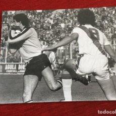 Coleccionismo deportivo: F12900 FOTO FOTOGRAFIA ORIGINAL DE PRENSA RAYO VALLECANO CARTAGENA FRANCISO LOPEZ GOMEZ. Lote 235474380