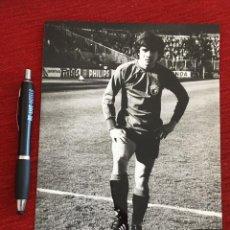 Coleccionismo deportivo: F12903 FOTO FOTOGRAFIA ORIGINAL DE PRENSA JORGE ORLANDO LOPEZ REAL BURGOS 1980. Lote 235475170