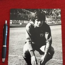 Coleccionismo deportivo: F12904 FOTO FOTOGRAFIA ORIGINAL DE PRENSA JORGE ORLANDO LOPEZ REAL BURGOS 1980. Lote 235475240